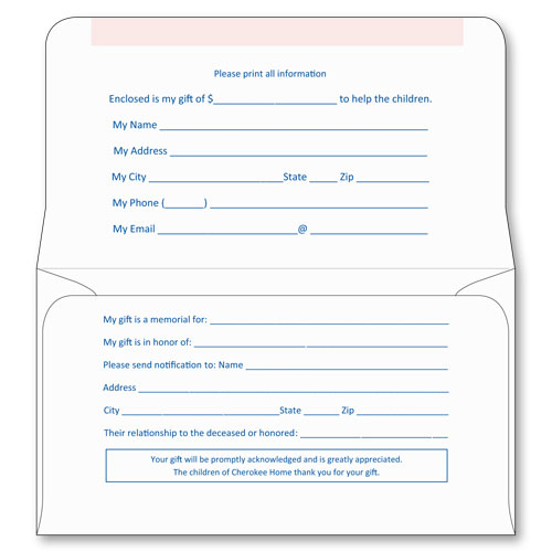 6 3 4 kost kut remittance style a sheppard envelope for Fundraising envelope template