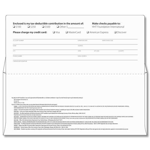 Home Main Remittance Envelopes