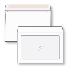 9 x 12 full view window envelope with regular gum