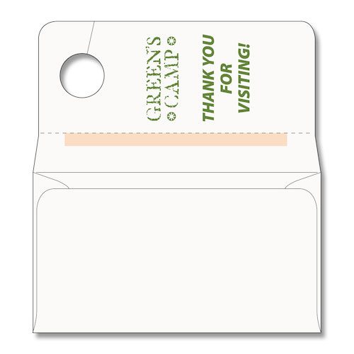 Rearview Mirror Hanging Envelope