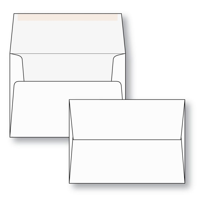A size greeting card envelopes