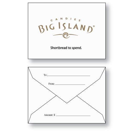 Gift Card Envelopes — Custom Printed