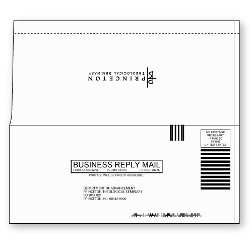 perfect bound 9 business reply envelope custom printed sheppard envelope. Black Bedroom Furniture Sets. Home Design Ideas