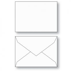 Gift Card envelope Style B white unprinted