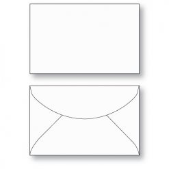 Gift Card envelope Style C unprinted