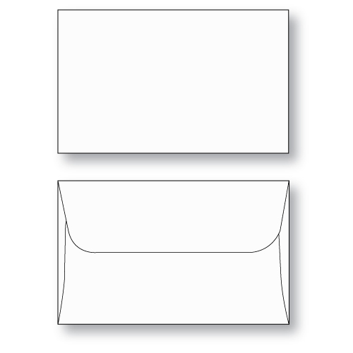 Gift Card envelope Style D unprinted