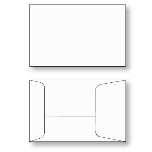 Gift Card envelope Style E unprinted
