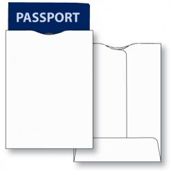 RFID passport jacket unprinted