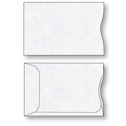 Tyvek credit card sleeve unprinted