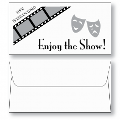 "Ticket Envelope Style C Booklet 3"" x 5-3/4"""