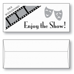 Ticket Envelope Style A TicketMaster® with Stock Printing