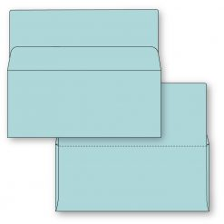 #9 Bangtail Bank-by-mail envelope in blue stock