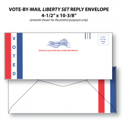 vote-by-mail liberty set ballot reply envelope
